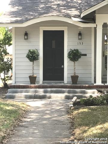 153 E Rosewood Ave, San Antonio, TX 78212 (MLS #1333371) :: Exquisite Properties, LLC