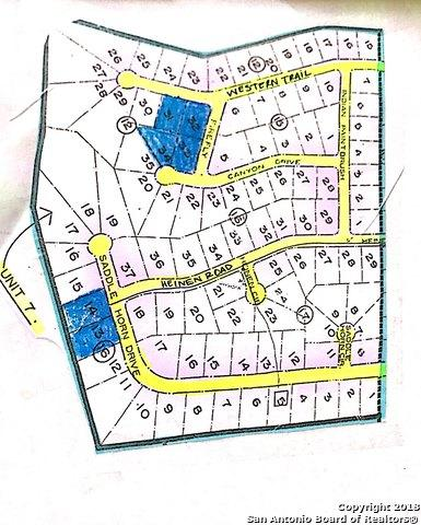 LOT 13 Saddle Horn, Bandera, TX 78003 (MLS #1334970) :: Carolina Garcia Real Estate Group