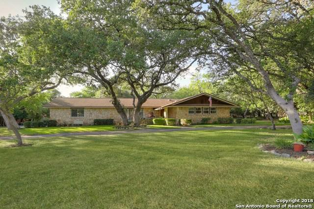 101 Broken Bough Ln, Shavano Park, TX 78231 (MLS #1335044) :: Exquisite Properties, LLC