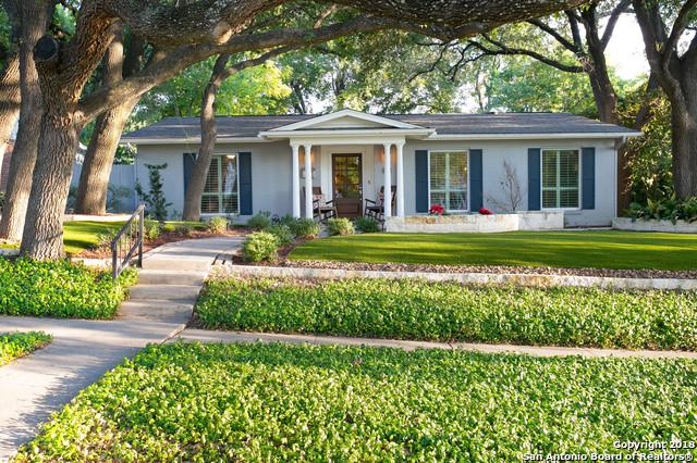 106 Wildrose Ave, Alamo Heights, TX 78209 (MLS #1335412) :: Exquisite Properties, LLC