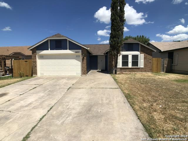 5807 Summer Fest Dr, San Antonio, TX 78244 (MLS #1335593) :: Alexis Weigand Real Estate Group