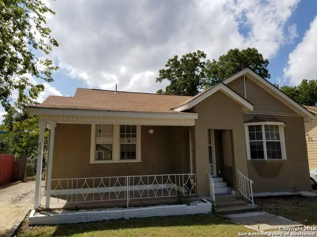 438 Greer St, San Antonio, TX 78210 (MLS #1337184) :: The Castillo Group