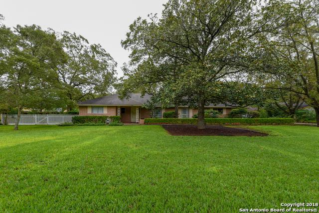 134 Turkey Creek Rd, Shavano Park, TX 78231 (MLS #1338143) :: Ultimate Real Estate Services