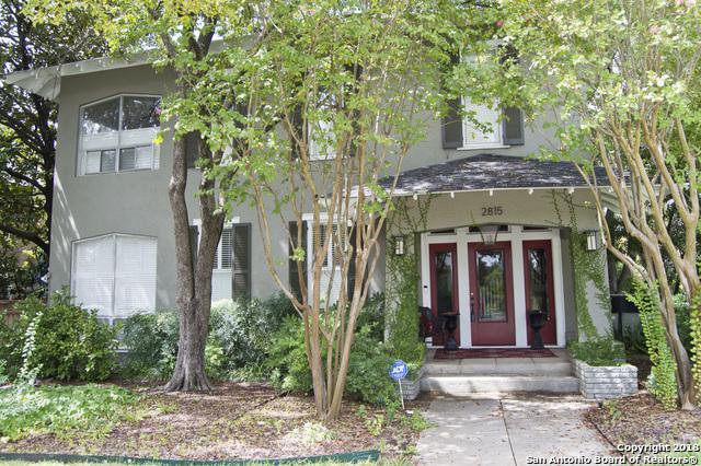 2815 N Main Ave, San Antonio, TX 78212 (MLS #1338768) :: Alexis Weigand Real Estate Group