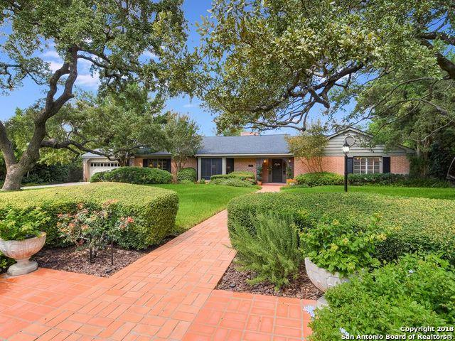 119 Bushnell Ave, San Antonio, TX 78212 (MLS #1339595) :: Exquisite Properties, LLC