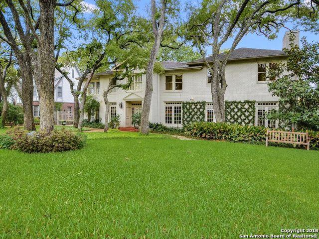 143 Park Hill Dr, San Antonio, TX 78212 (MLS #1339601) :: Alexis Weigand Real Estate Group
