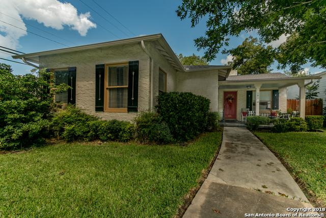 101 Wildrose Ave, Alamo Heights, TX 78209 (MLS #1340710) :: Ultimate Real Estate Services