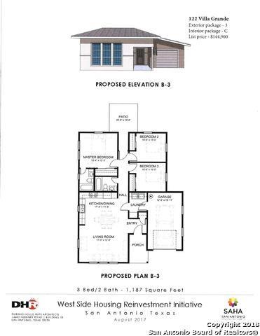 122 Villa Grande, San Antonio, TX 78228 (MLS #1342411) :: Erin Caraway Group