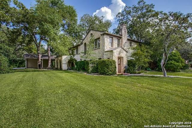 203 Rosemary Ave, Alamo Heights, TX 78209 (MLS #1342579) :: Ultimate Real Estate Services