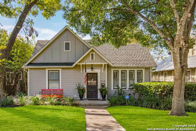 316 Abiso Ave, Alamo Heights, TX 78209 (MLS #1343032) :: The Castillo Group