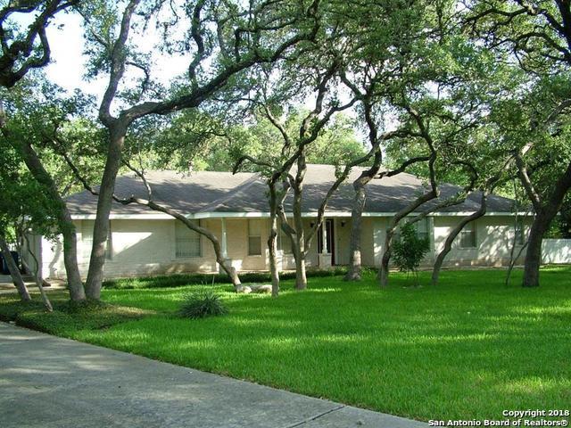112 Turkey Creek Rd, Shavano Park, TX 78231 (MLS #1343489) :: The Suzanne Kuntz Real Estate Team