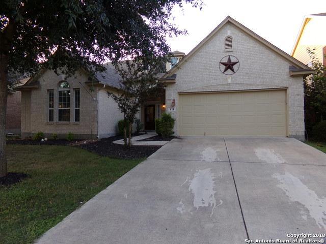 818 Stadler Cove, Cibolo, TX 78108 (MLS #1344433) :: Neal & Neal Team