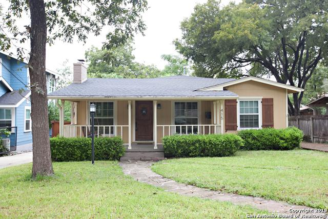 415 Corona Ave, Alamo Heights, TX 78209 (MLS #1344763) :: The Castillo Group