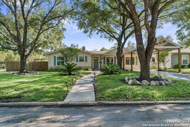 158 Brees Blvd, San Antonio, TX 78209 (MLS #1345380) :: Alexis Weigand Real Estate Group