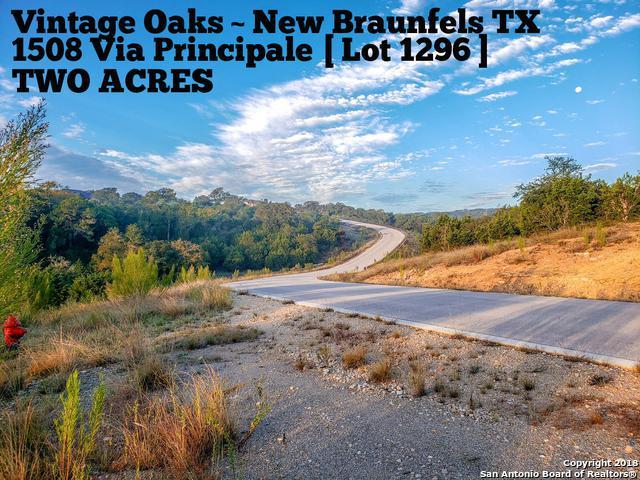 1508 Via Principale, New Braunfels, TX 78132 (MLS #1347401) :: The Suzanne Kuntz Real Estate Team