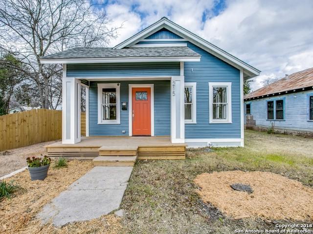215 Blaine, San Antonio, TX 78202 (MLS #1347547) :: The Suzanne Kuntz Real Estate Team