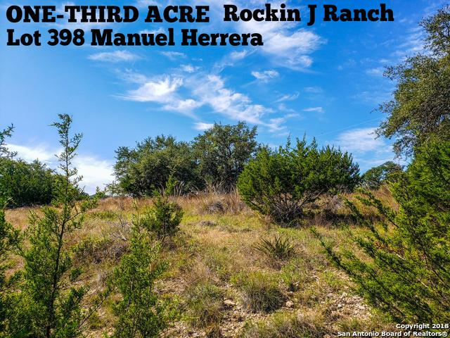 LOT 398 Manuel Herrera, Blanco, TX 78606 (MLS #1347602) :: Exquisite Properties, LLC