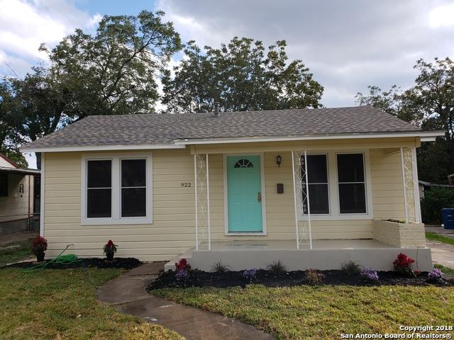 922 W Wildwood Dr, San Antonio, TX 78201 (MLS #1347662) :: The Suzanne Kuntz Real Estate Team