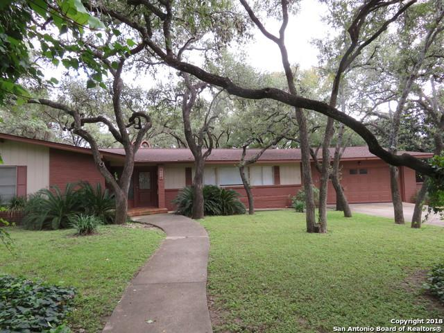 222 Carolwood, Castle Hills, TX 78213 (MLS #1348136) :: The Castillo Group