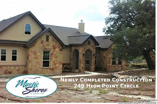 249 High Point Circle, Spring Branch, TX 78070 (MLS #1348651) :: Exquisite Properties, LLC