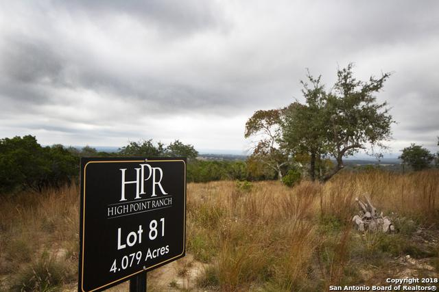 81 High Point Ranch Rd, Boerne, TX 78006 (MLS #1348652) :: Magnolia Realty