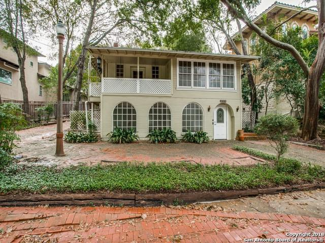 727 Patterson Ave, Alamo Heights, TX 78209 (MLS #1348723) :: Ultimate Real Estate Services