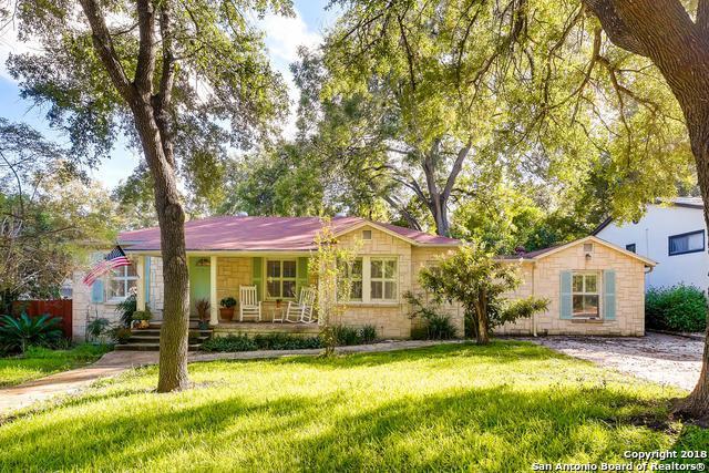 262 E Elmview Pl, Alamo Heights, TX 78209 (MLS #1348843) :: Neal & Neal Team