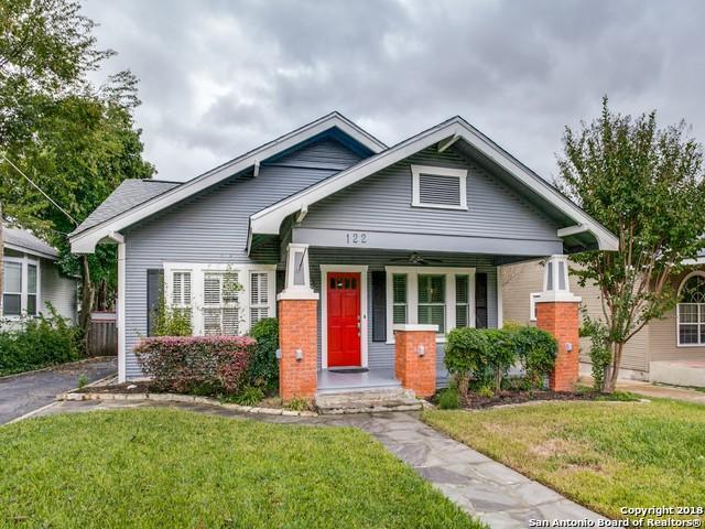 122 Normandy Ave, Alamo Heights, TX 78209 (MLS #1349468) :: Exquisite Properties, LLC