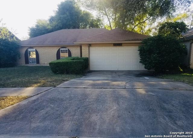 14403 Ridge Meadow Dr, San Antonio, TX 78233 (MLS #1349471) :: Alexis Weigand Real Estate Group