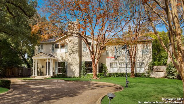 405 Ridgemont Ave, Terrell Hills, TX 78209 (MLS #1352194) :: Tom White Group