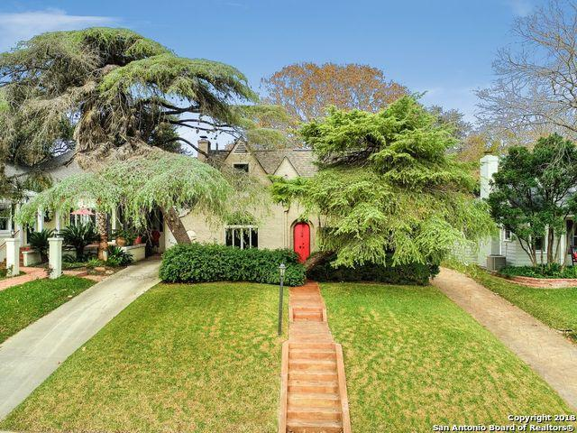 311 Cloverleaf Ave, Alamo Heights, TX 78209 (MLS #1352824) :: Exquisite Properties, LLC
