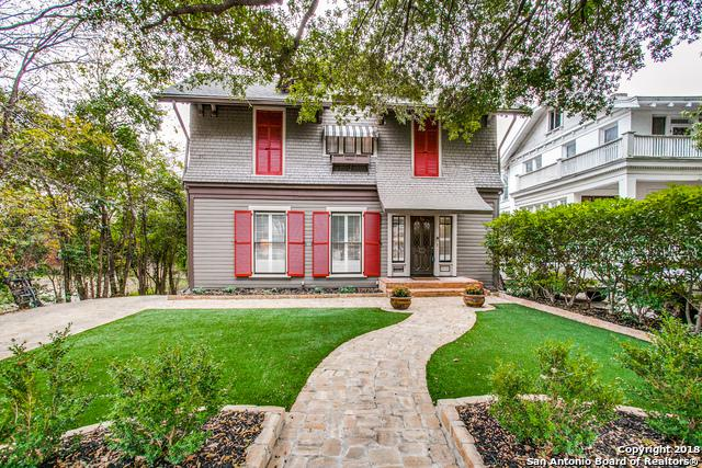 318 W Mistletoe Ave, San Antonio, TX 78212 (MLS #1353018) :: Exquisite Properties, LLC