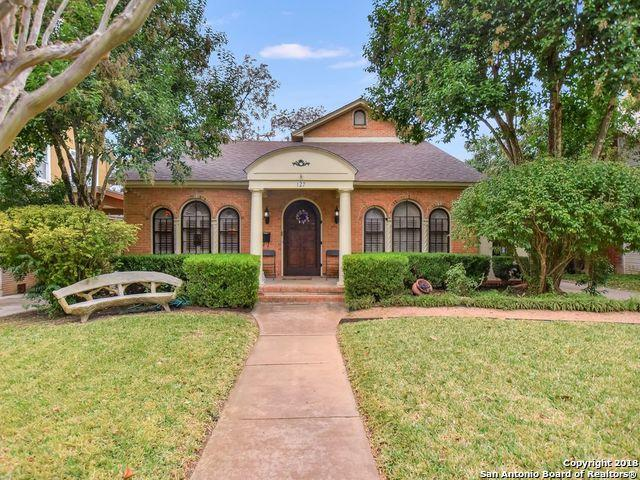 127 W Rosewood Ave, San Antonio, TX 78212 (MLS #1353076) :: Alexis Weigand Real Estate Group