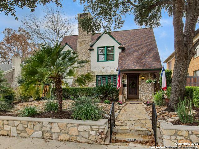 246 E Lullwood Ave, San Antonio, TX 78212 (MLS #1354095) :: Alexis Weigand Real Estate Group