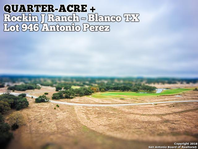 LOT 946 Antonio Perez, Blanco, TX 78606 (MLS #1354152) :: NewHomePrograms.com LLC