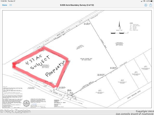 22540 E Fm 1518, Schertz, TX 78154 (MLS #1355584) :: Alexis Weigand Real Estate Group