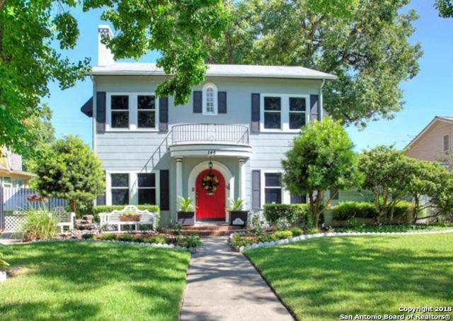145 E Rosewood Ave, San Antonio, TX 78212 (MLS #1355983) :: Alexis Weigand Real Estate Group