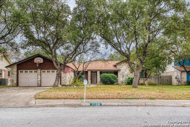 2138 Oak Peak, San Antonio, TX 78259 (MLS #1356275) :: Exquisite Properties, LLC