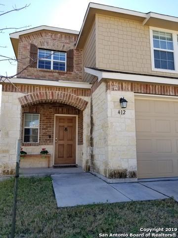 412 Auburn Park, Selma, TX 78154 (MLS #1356632) :: Exquisite Properties, LLC