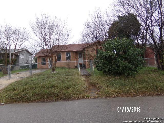 2313 Texas Avenue, San Antonio, TX 78228 (MLS #1359174) :: Exquisite Properties, LLC