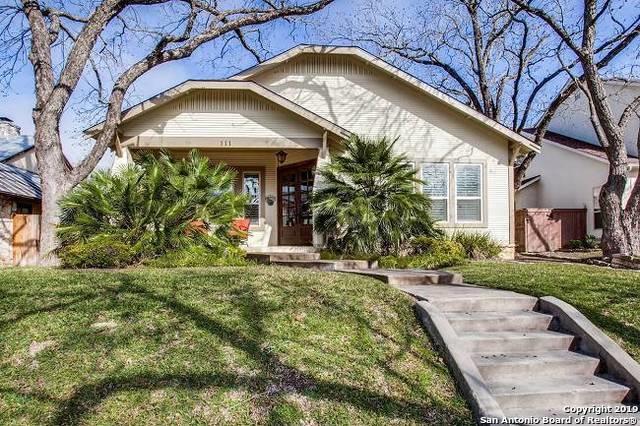 111 Wildrose Ave, Alamo Heights, TX 78209 (MLS #1359219) :: Exquisite Properties, LLC