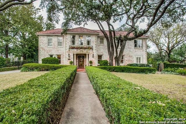 207 Ridgemont Ave, Terrell Hills, TX 78209 (MLS #1360984) :: ForSaleSanAntonioHomes.com