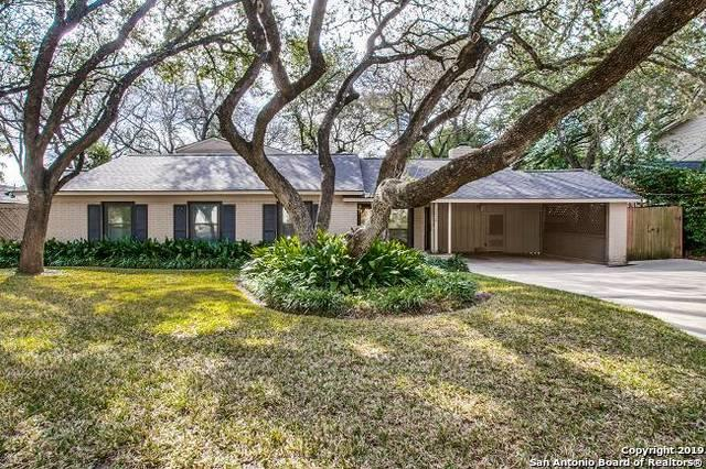 2626 Friar Tuck Rd, San Antonio, TX 78209 (MLS #1361849) :: Vivid Realty