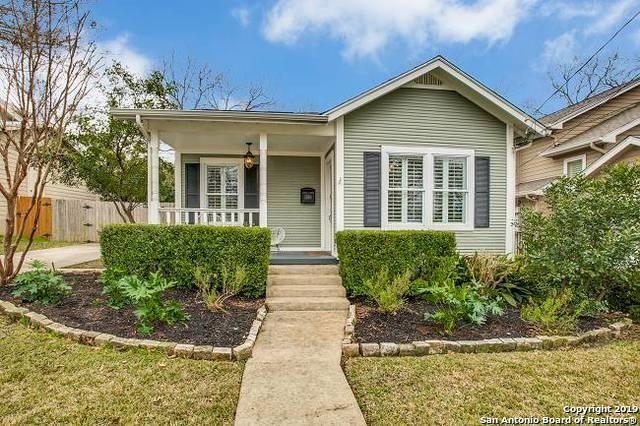 536 Argo Ave, Alamo Heights, TX 78209 (MLS #1362598) :: Neal & Neal Team