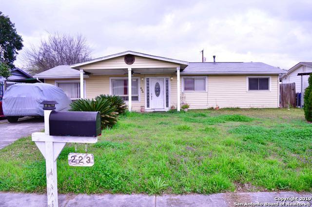 223 Jamaica Dr, San Antonio, TX 78227 (MLS #1362927) :: Vivid Realty