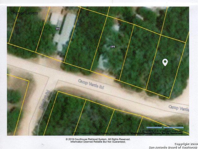 0 Camp Verde Rd Lot 305, Bandera, TX 78003 (MLS #1363567) :: Erin Caraway Group
