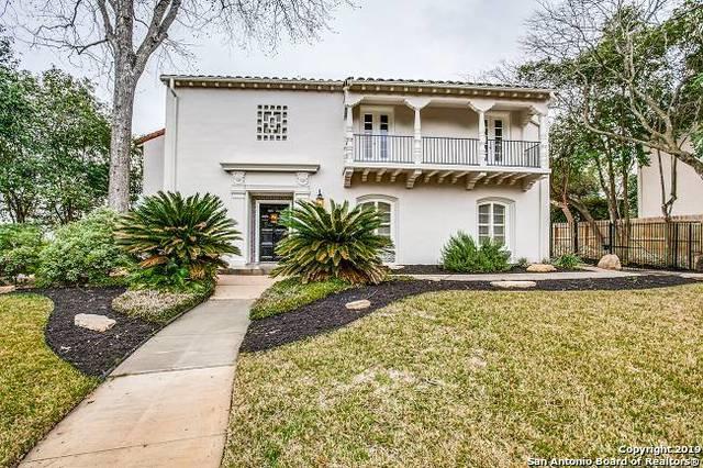 150 Park Dr, San Antonio, TX 78212 (MLS #1363911) :: Alexis Weigand Real Estate Group