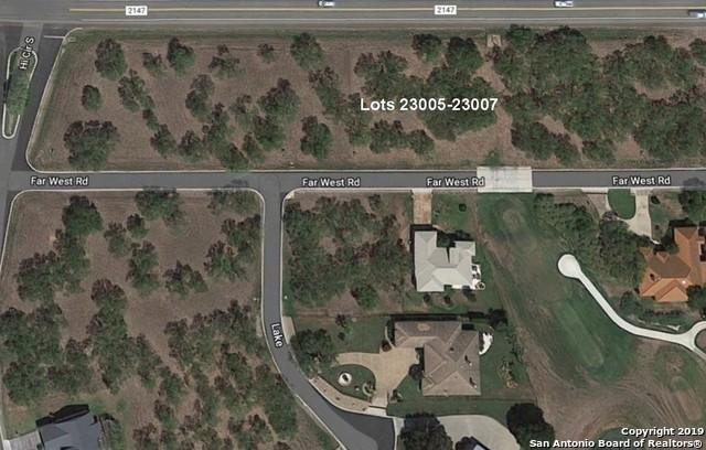 LOT 23005-23007 Far West, Horseshoe Bay, TX 78657 (MLS #1364009) :: ForSaleSanAntonioHomes.com