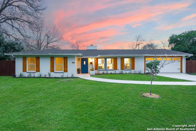 260 Wyanoke Dr, San Antonio, TX 78209 (MLS #1364154) :: Alexis Weigand Real Estate Group