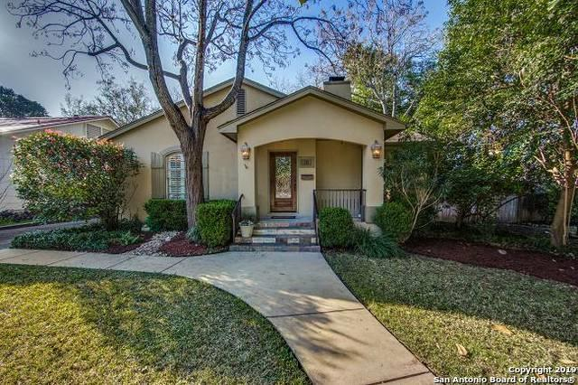 120 Tuxedo Ave, Alamo Heights, TX 78209 (MLS #1364614) :: Alexis Weigand Real Estate Group